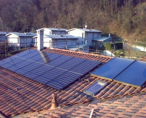 impianto fotovoltaico abitazioni-como