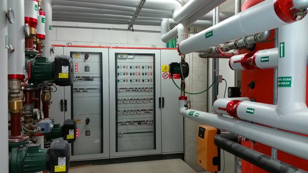 impianto riscaldamento casa di riposo
