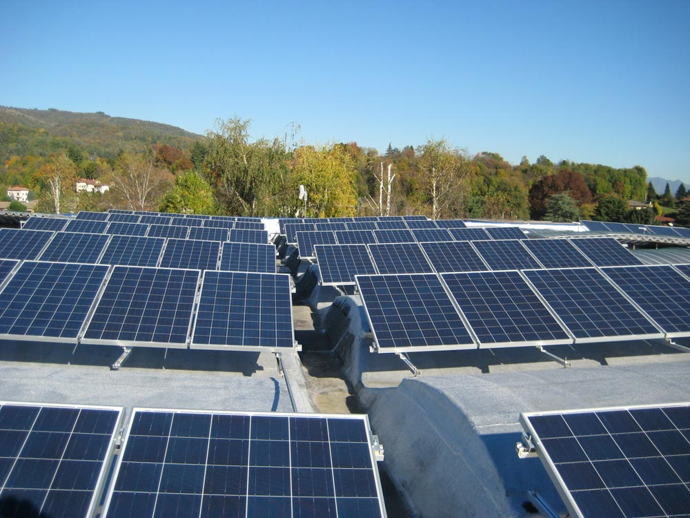 Pannelli fotovoltaici per industria for Pannelli solari solar