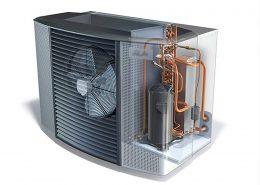 La pompa di calore migliora l'efficienza energetica