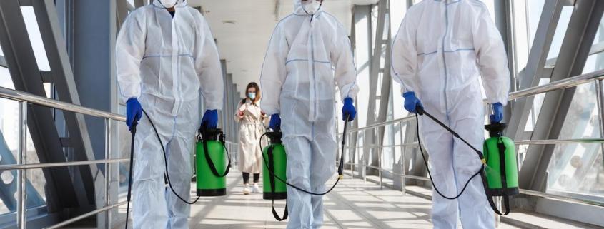 Coronavirus sanificazione ambienti